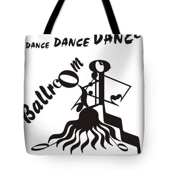Ballroom Tote Bag by Maria Watt