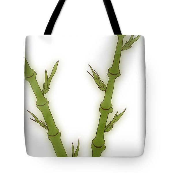 Bamboo Tote Bag by Frank Tschakert