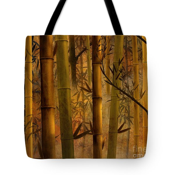 Bamboo Heaven Tote Bag by Bedros Awak