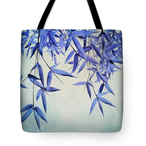 bamboo susurration Tote Bag by Priska Wettstein
