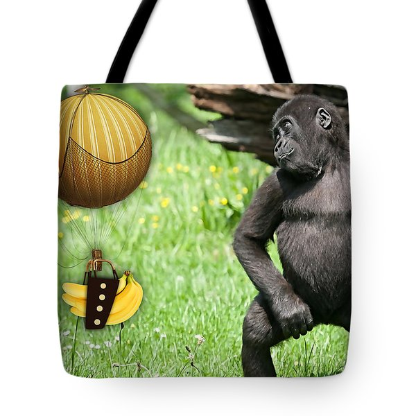 Banana Delivery Service Tote Bag by Marvin Blaine