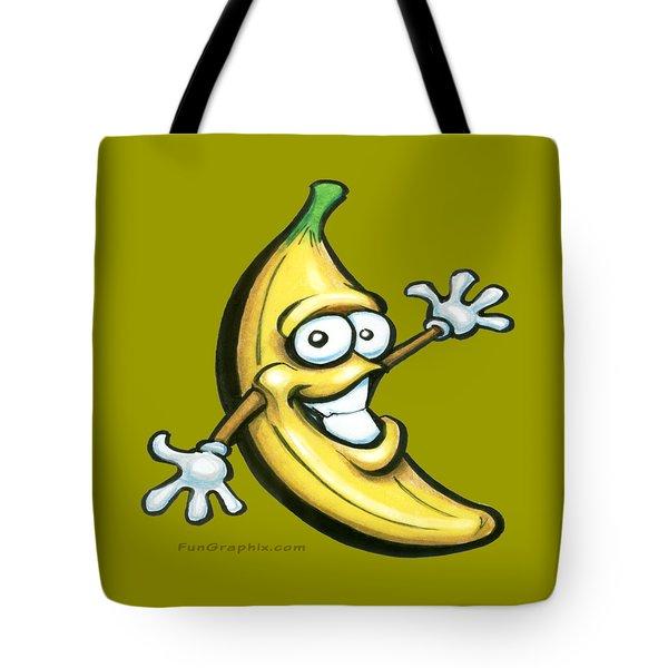 Banana Tote Bag by Kevin Middleton