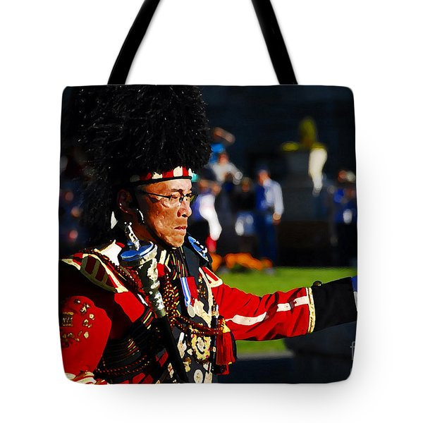Band Leader Tote Bag by David Lee Thompson