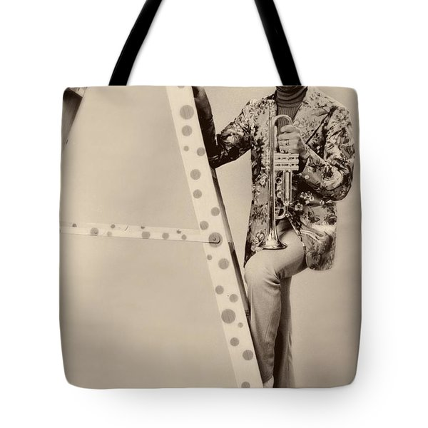 Band Leader Doc Serverinsen 1974 Tote Bag by Mountain Dreams