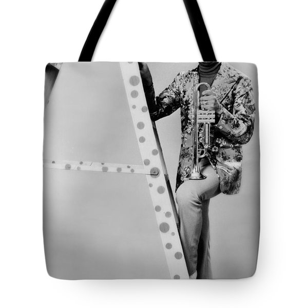 Band Leader Doc Severinson 1974 Tote Bag by Mountain Dreams
