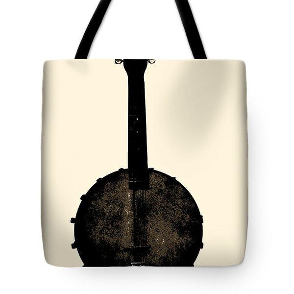 Banjo Mandolin Tote Bag by Bill Cannon