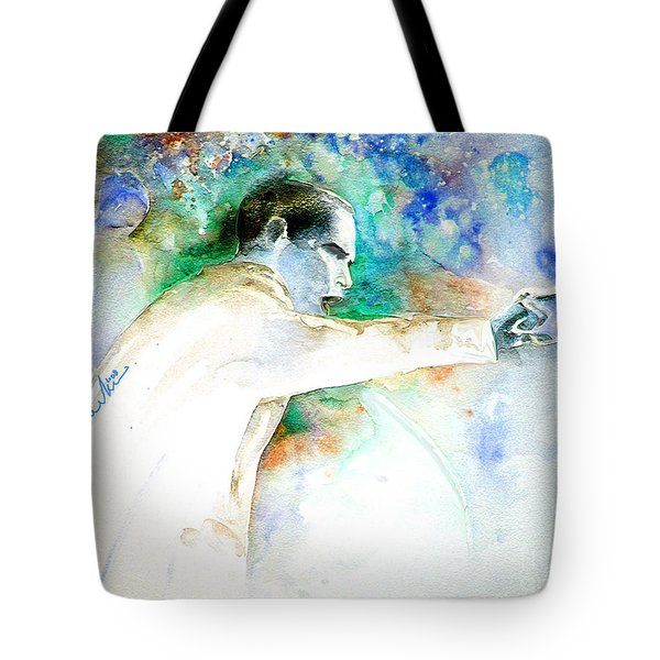 Barack Obama Pointing At You Tote Bag by Miki De Goodaboom