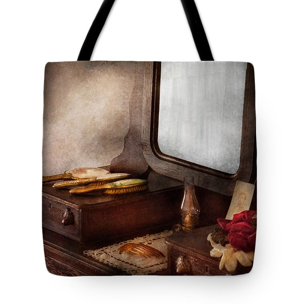 Barber - Everything you need to look Beautiful Tote Bag by Mike Savad