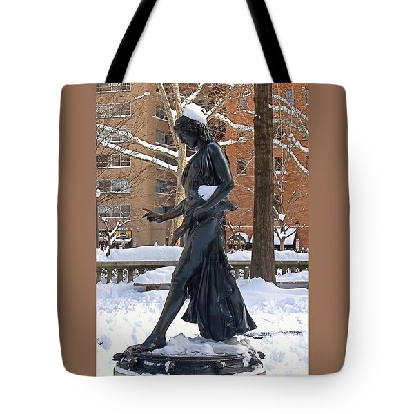 Barefoot In The Park Tote Bag by Rona Black