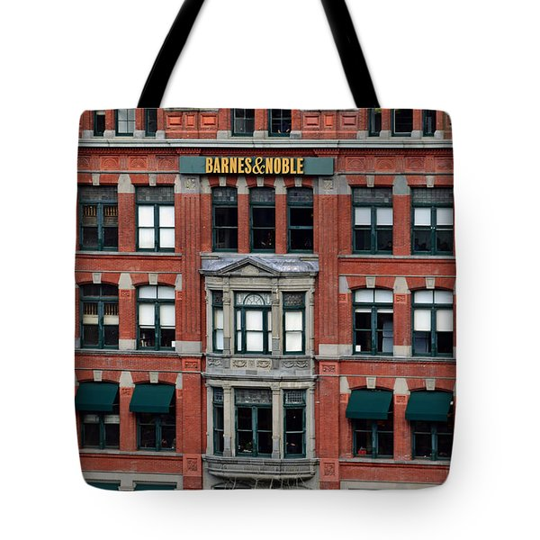 Barnes And Noble Union Square  Tote Bag by Sandy Taylor