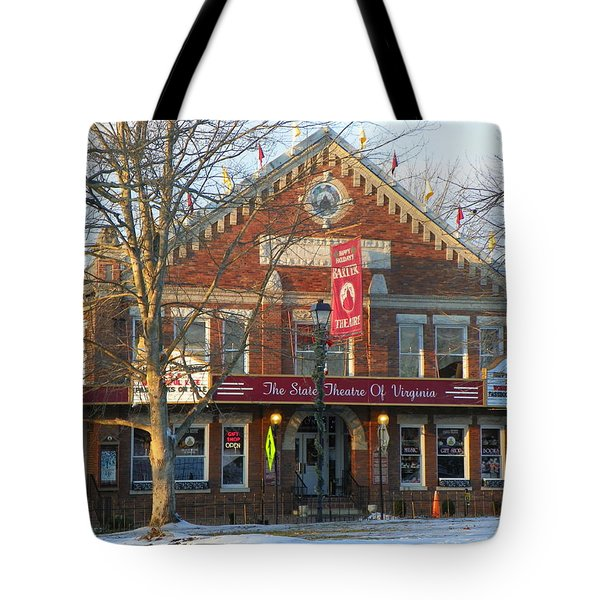 Barter Theatre Tote Bag by KAREN WILES