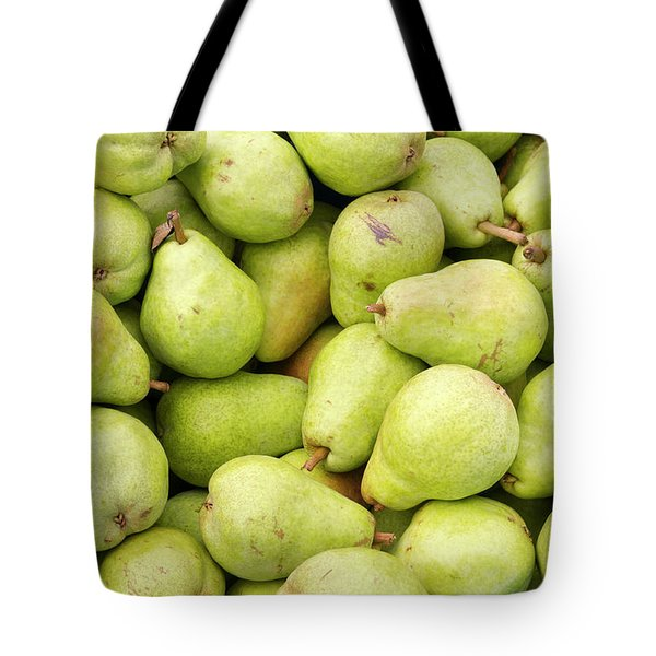 Bartlett Pears Tote Bag by John Trax