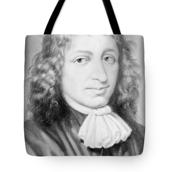 Baruch Spinoza, Jewish-dutch Philosopher Tote Bag by Photo Researchers