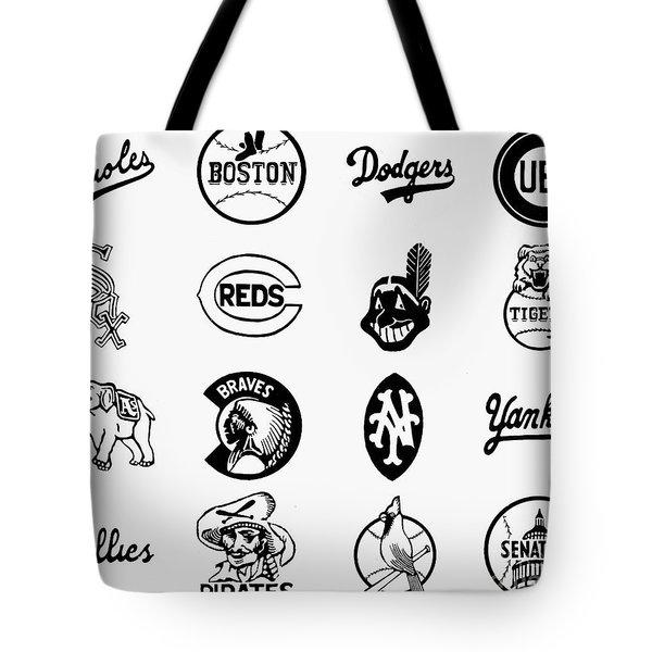 Baseball Logos Tote Bag by Granger