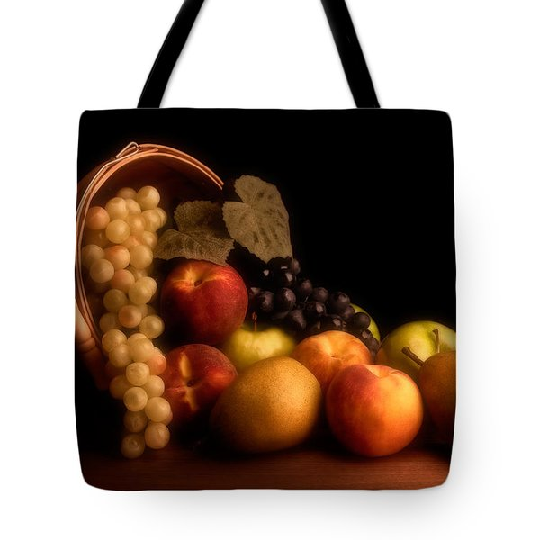 Basket Of Fruit Tote Bag by Tom Mc Nemar