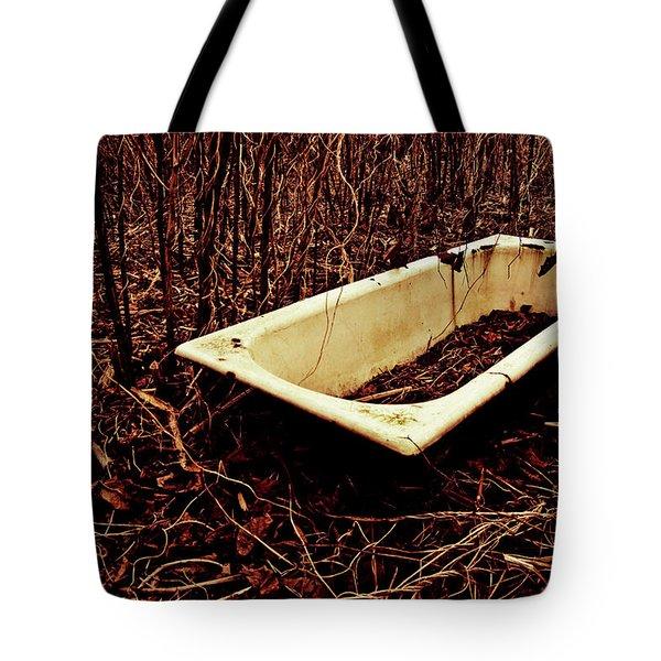 Bath Tote Bag by Grebo Gray