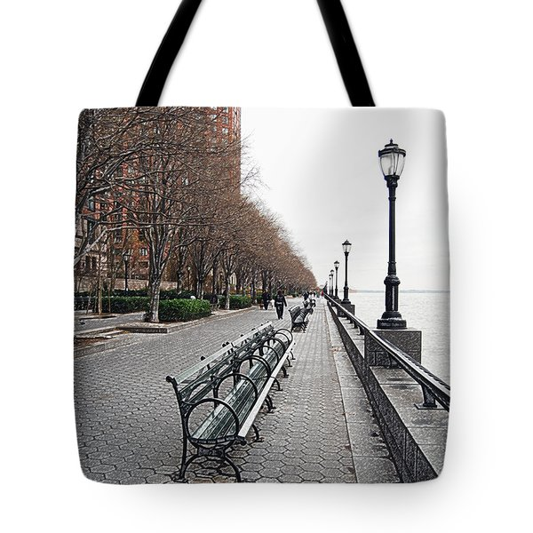 Battery Park Tote Bag by Michael Peychich