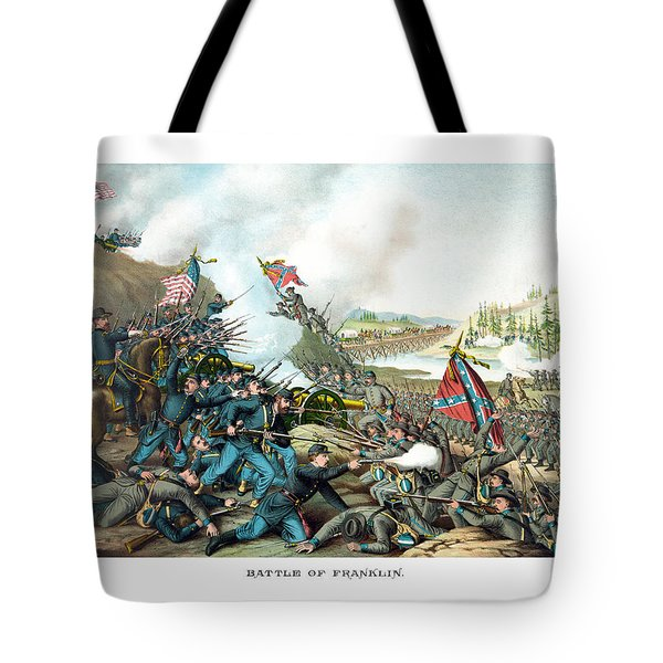 Battle Of Franklin Tote Bag by War Is Hell Store