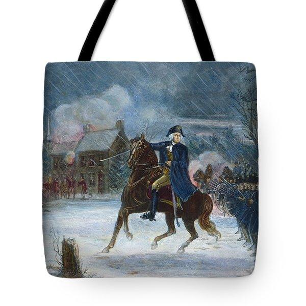 Battle Of Trenton, 1776 Tote Bag by Granger