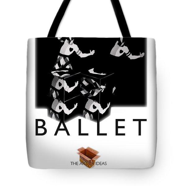 Bauhaus Ballet Poster Tote Bag by Charles Stuart