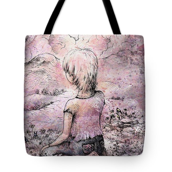 Be Still Tote Bag by Rachel Christine Nowicki