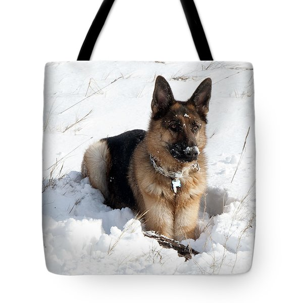 Be Vewy Vewy Quiet Tote Bag by Greg Fortier