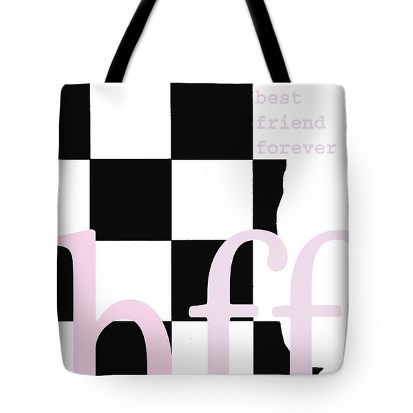 be your own best friend Tote Bag by adSpice Studios
