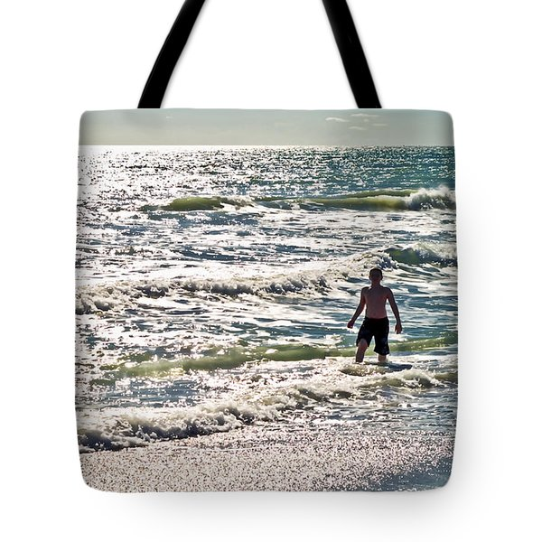 Beach Adventure Tote Bag by Patrick M Lynch
