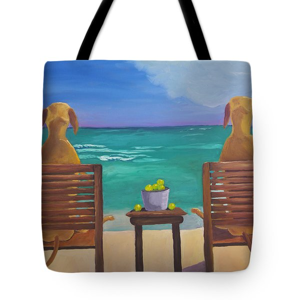 Beach Blondes Tote Bag by Roger Wedegis