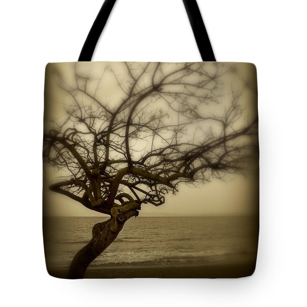 Beach Tree Tote Bag by Perry Webster