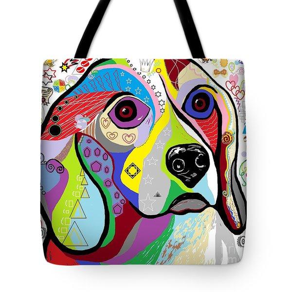 Beagle Tote Bag by Eloise Schneider