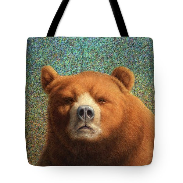 Bearish Tote Bag by James W Johnson