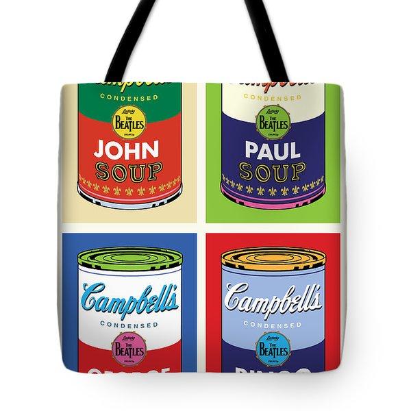 Beatles Soup Tote Bag by Gary Grayson