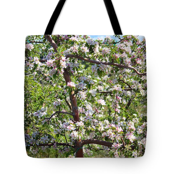 Beautiful Blossoms - Digital Art Tote Bag by Carol Groenen