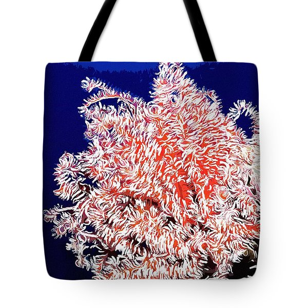 Beautiful fan coral Tote Bag by Lanjee Chee