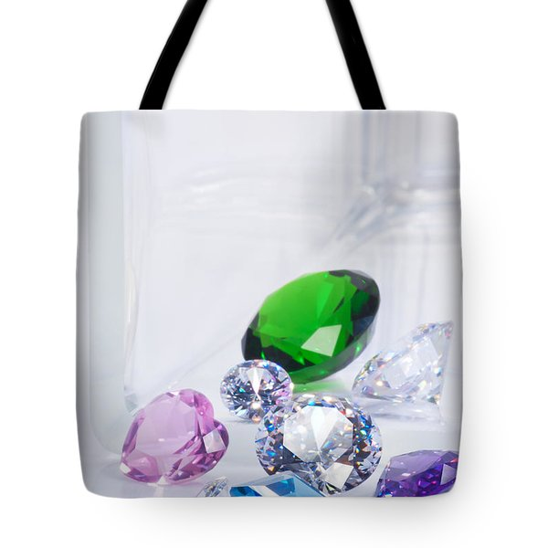 beautiful jewel Tote Bag by ATIKETTA SANGASAENG