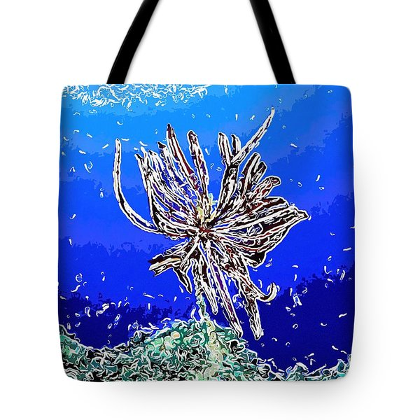 Beautiful marine plants 1 Tote Bag by Lanjee Chee