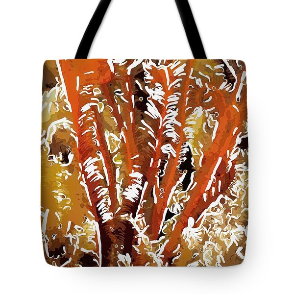 Beautiful marine plants 8 Tote Bag by Lanjee Chee