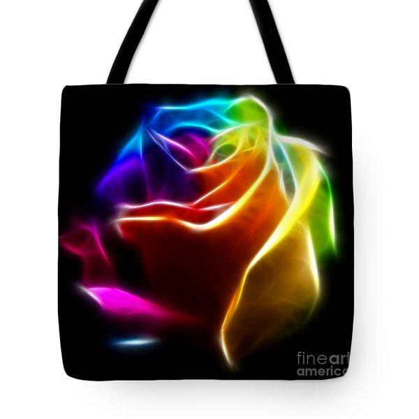 Beautiful Rose of Colors No2 Tote Bag by Pamela Johnson