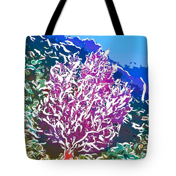 Beautiful Sea fan coral 2 Tote Bag by Lanjee Chee