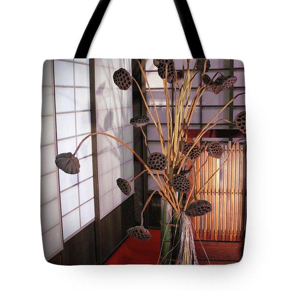Beauty In Death Tote Bag by Eena Bo
