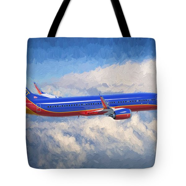 Beauty In Flight Tote Bag by Garland Johnson