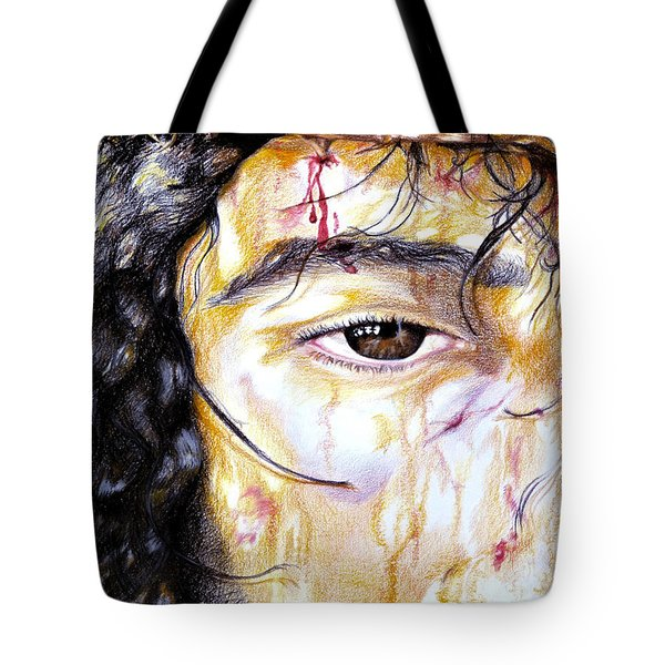 Because Of Love Tote Bag by Sheron Petrie