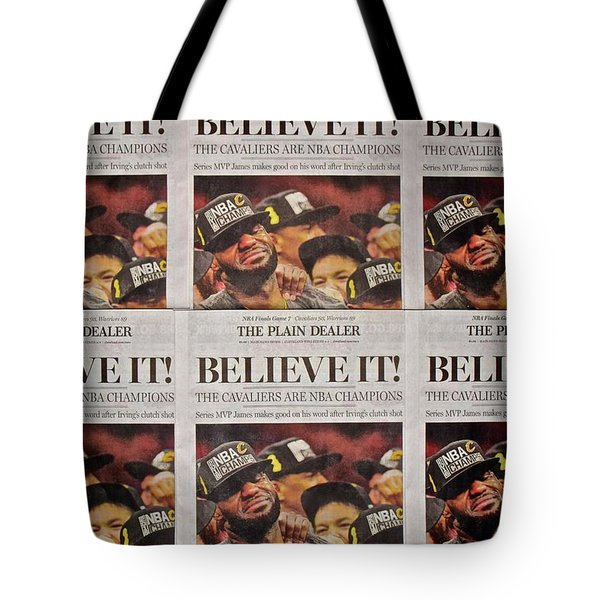 Believe It Tote Bag by Frozen in Time Fine Art Photography