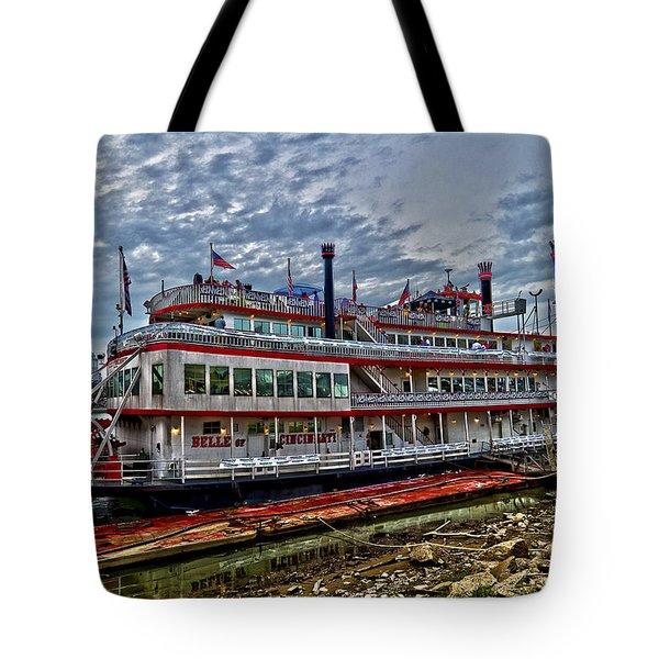 Belle of Cincinnati Tote Bag by Keith Allen
