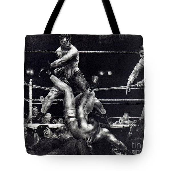 Bellows: Dempsey, 1924 Tote Bag by Granger