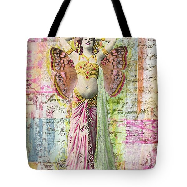 Belly Dancer Tote Bag by Desiree Paquette