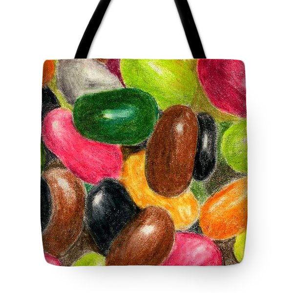 Belly Jelly Tote Bag by Lynne Reichhart