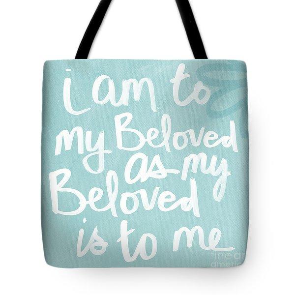 Beloved Tote Bag by Linda Woods