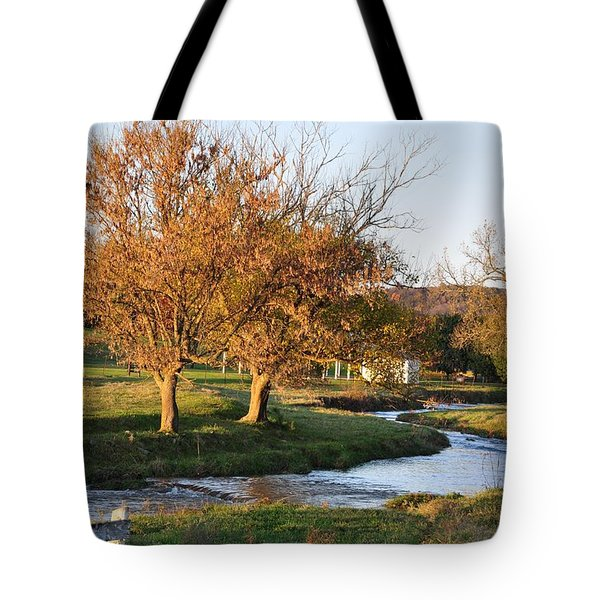 Bending Creek Tote Bag by Jan Amiss Photography